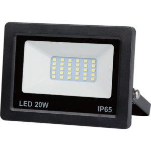 Led floodlight flat 20 watt smd, IP65