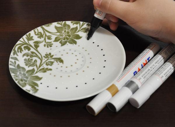 Маркер масляный, водонепроницаемый — цвет серебро купить в Эстонии - 7x7.ee