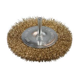 Steel wheel brush 100 mm drill.