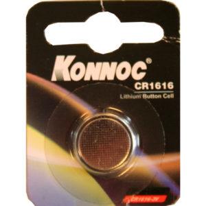 Батарейки, Button cell battery lithium cr 1616 konnoc