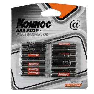 Patarei, Battery mini penlite 12 pieces r3 aaa konnoc