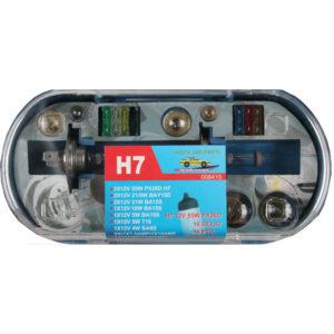 Autolambid, Car light h7 set 16 pieces jumbo box