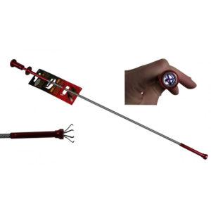 Pick-up tool 3-in-1 alu+magnet+led
