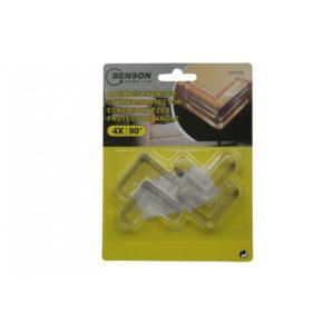 Corner protector 4 pieces transp 90°