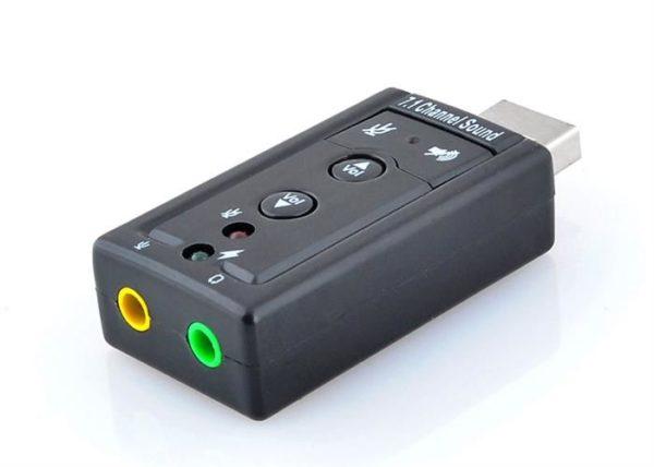 USB SOUND ADAPTER 7.1 osta Eestis - 7x7.ee