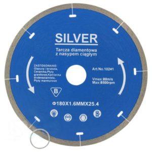 Teemantketas 180 x 1,6mm 25.4 pidev  SILVER