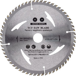 Saeketas, 160 x 20 x 60 T TST SAW, 16mm, 20mm