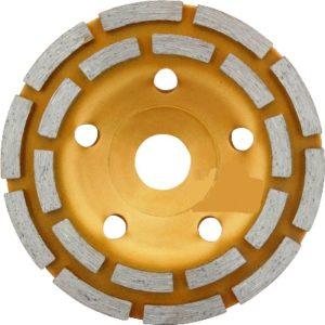 Алмазный диск для шлифования бетона 125 мм х 22,23 мм