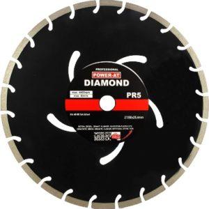 Алмазный диск Ø350 x 10мм, для резки бетона, кирпича, Power-Alt