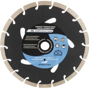 Алмазный диск CG Ø230mm, для резки бетона, кирпича.