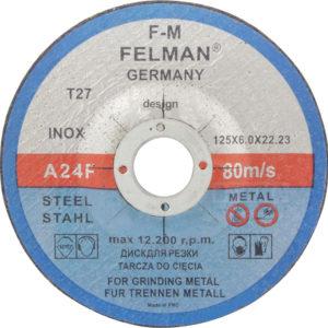 Lihvketas 125×6 FELMAN