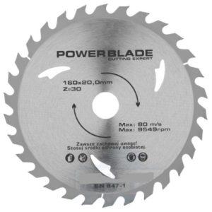 Saeketas, 160 x 20 x 30 T Power Blade
