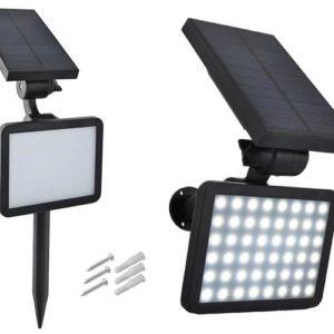 Päikeseenergia lamp, 2000mAh, 48 LED, LS5356