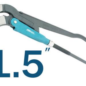 Плоскогубцы, 1.5″, L=410mm, трубный ключ, JOBI PROFI