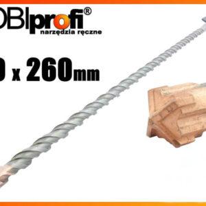 Kivipuur, SDS PLUS 10 x 260 mm S4