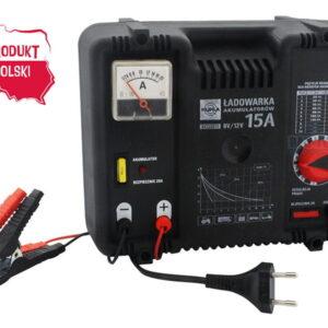 Akulaadija 15A  220 volt CE 6/12 v