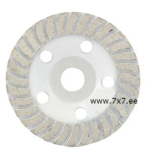 Teemant ketas lihvimiseks betoon 125 mm x 5 mm x 22.23 mm