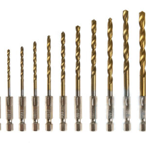 Metallist puurid, HSS titaanist 1,5-6 mm.