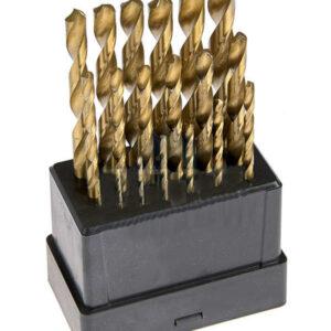 Titaanist metallipuurid, HSS 19tk 1-10mm