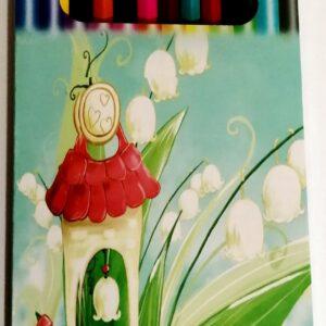 Värvipliiats 12 värvi, FEIDA