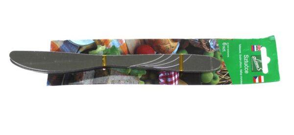 Kööginuga, noad 21 cm - komplekt 6tk. Ножи на блистере 21 см - набор 6 шт.