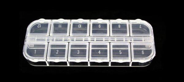Plassmassist karp, 13x5cm - Контейнер, органайзер пластиковый