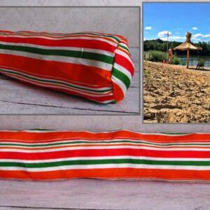 Rannapadi ROLLER täidisega 75x10 cm. Подушка пляжная