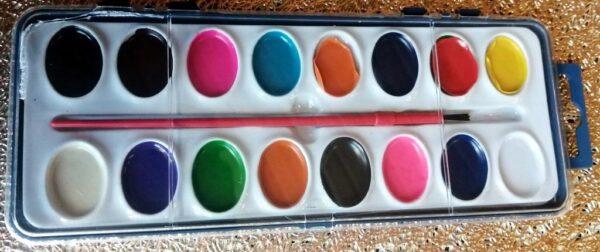 Vesivärvid 16-värvi