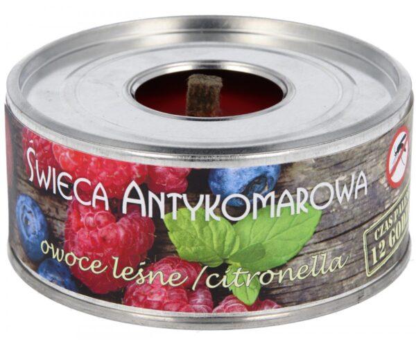 Sääseküünal, metsamarjad ja tsitronella 10х4 cm Свеча против комаров