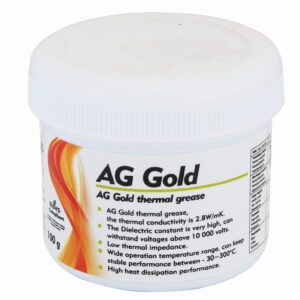 AG GOLD 100g kullapõhine termopasta- AG GOLD 100г термопаста на основе золота