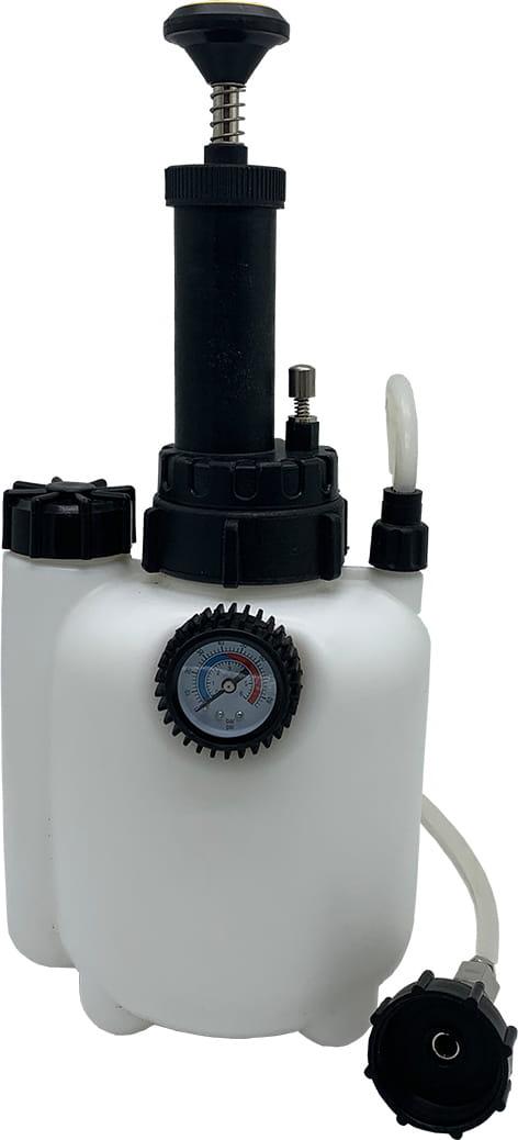 Piduriteõhutus, PIDURIVEDELIKU ÕHUTAJA 2,5L, Устройство для замены давления и прокачки тормозной жидкости ручным насосом.