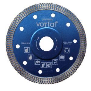 Teemanttera 125 mm portselanist kivikeraamika lõikamiseks