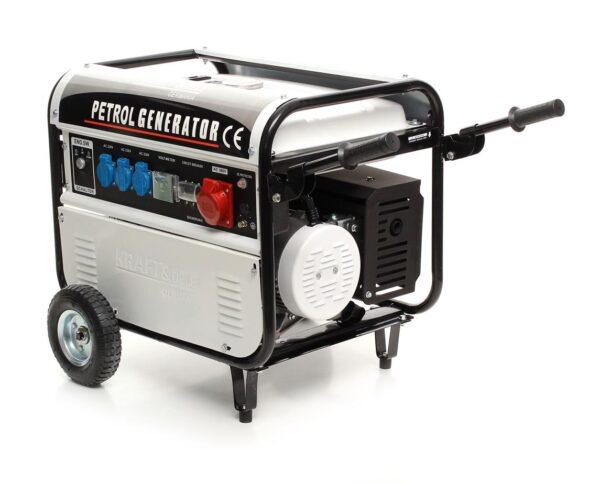 Generaator 5000wt, 5kw, 12/230/380V - 7x7.ee