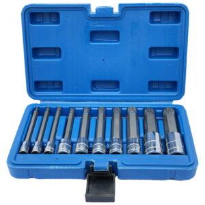 Шлицевые головки Torx 1/4 3/8 1/2 M4-M18 XZN 10 шт.
