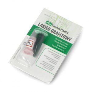 Электропроводящий графитовый лак – для контактов и дорожек 2×1,5ml
